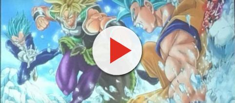 Toei Animation finally reveals Broly's full design. - [MaSTAR Media / YouTube screenshot]