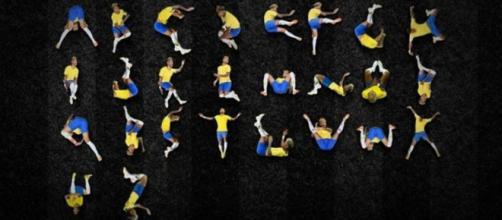 Alfabeto di Neymar: le lettere dell'ironico font Ney Type