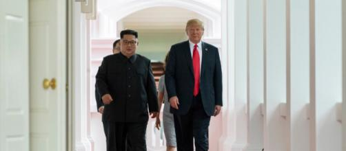 After the Singapore Summit North Korea misses an important meeting with the US. (Image source: Dan Scavino Jr. - Wikimedia Commons)
