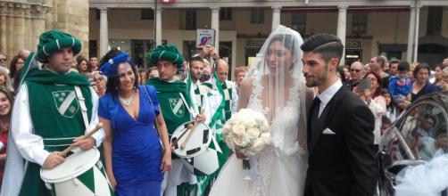 Nicolò Noto e la moglie Valentina aspettano un figlio