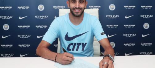 Riyad Mahrez è ufficialmente un nuovo calciatore del Manchester City