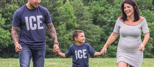 'Teen Mom 2' stars Javi Marroquin and Lauren Comeau expecting their first baby together. - [Grace Report / YouTube screencap]
