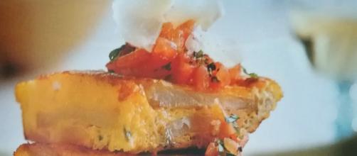Torrilla con chilli e formaggio
