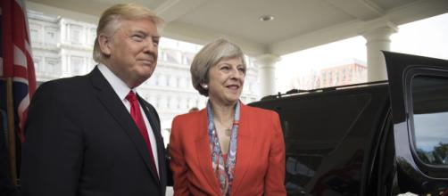 Trump clashes with Theresa May over her Brexit proposal - (Image Credit -BBC/Twitter)