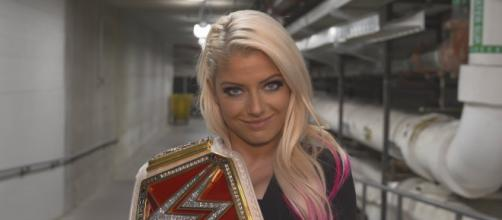"WWE 'Raw"" Women's Champion Alexa Bliss is a heavy favorite to retain her title at 'Extreme Rules 2018.' - [WWE / YouTube screencap]"