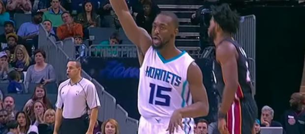 Charlotte Hornets guard Kemba Walker continues to be mentioned in trade speculation. - [ESPN / YouTube screencap]