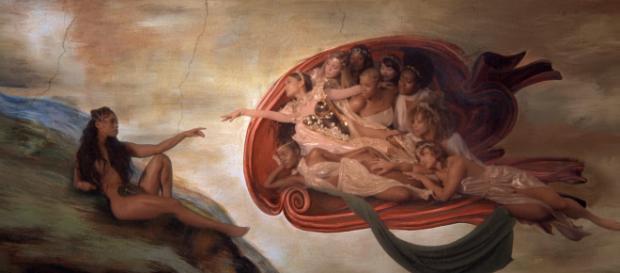 Novo clipe de Ariana Grande tem reprodução de famosa pintura de Michelangelo