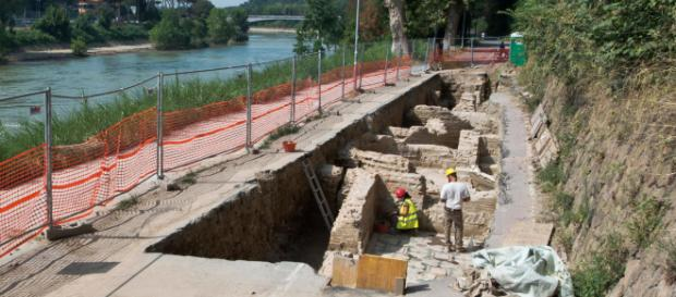 Ponte Milvio: scoperta misteriosa struttura di età imperiale - iltempo.it