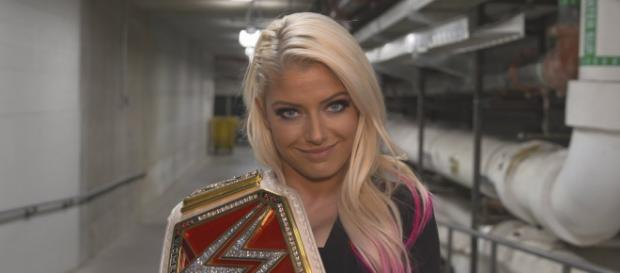 """WWE 'Raw"""" Women's Champion Alexa Bliss is a heavy favorite to retain her title at 'Extreme Rules 2018.' - [WWE / YouTube screencap]"""