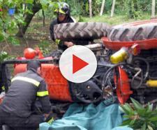 Calabria, agricoltore muore schiacciato sotto un trattore. (foto di repertorio)