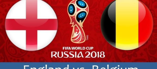 England - Belgium watch match online football 2018.(Image Credit: FIFA 2018/Twitter)