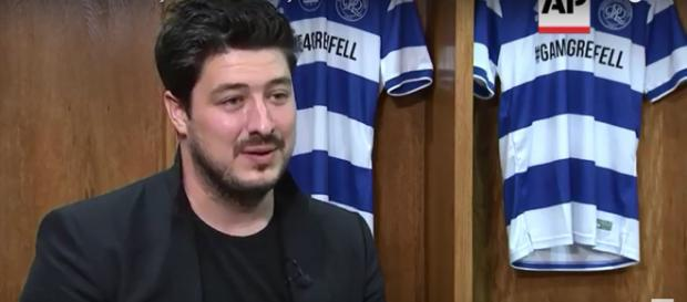 Marcus Mumford knows the feeling of a great English World Cup match, and the good football can do. [Image source: AP Archive-YouTube]