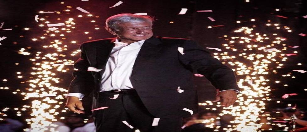 El recorrido de Obrador: terminó la escuela de milagro por problemas económicos
