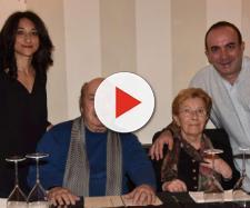 Lino Banfi festeggia gli 80 anni della moglie Lucia - Foto Tgcom24 - mediaset.it