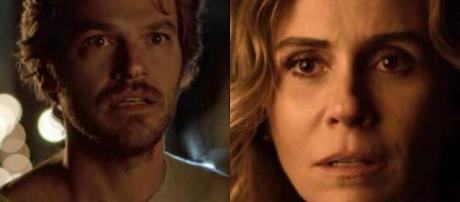 Luzia e Beto, personagens de 'Segundo Sol'
