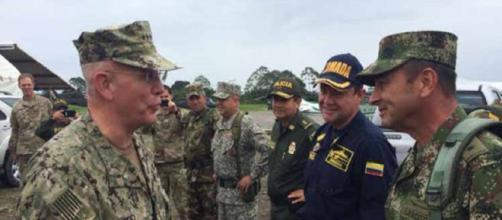 VENEZUELA / Linderos territoriales venezolanos con activa presencia militar