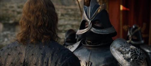 Os irmãos Clegane, Cão de Caça e Montanha.
