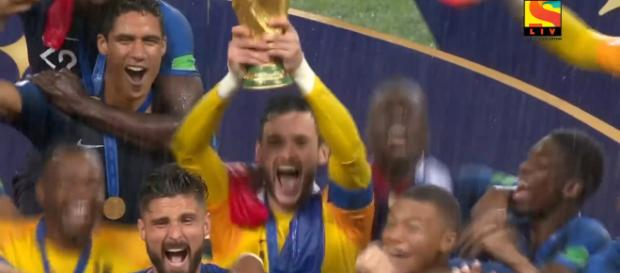 France wins the 2018 World Cup. [Image via: SonyLIV/Youtube]