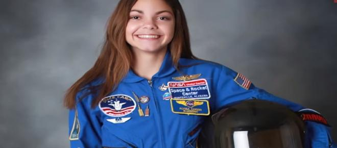 17-year-old Alyssa Carson might be the first and youngest human to step on Mars