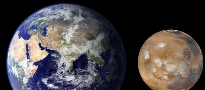 Marte se acerca a la Tierra y será visible en el cielo hasta principios de agosto