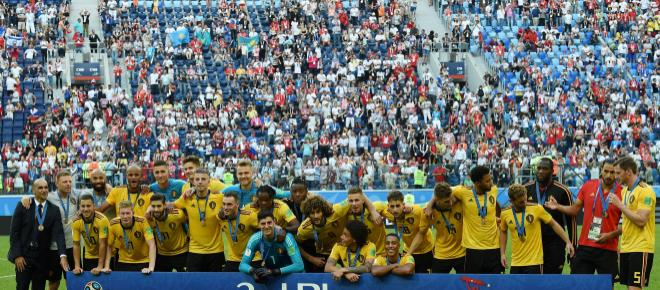 Bélgica vence Inglaterra por 2 a 0 e fica em terceiro lugar na Copa da Rússia 2018