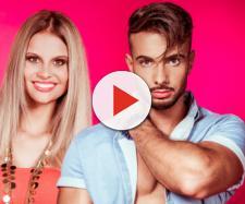 Sommerhaus der Stars: Julian Evangelos mit seiner Verlobten Stephanie Schmitz. Nach der Blamage beim Bohren gab es böse Worte für die Zuschauer