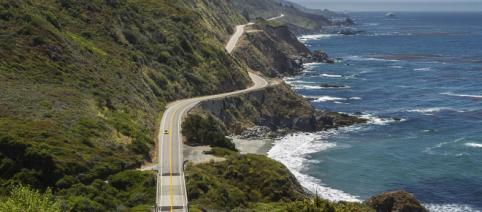 View of Highway 1 in Big Sur, California (Image credit – Fred Moore, Wikimedia Commons)