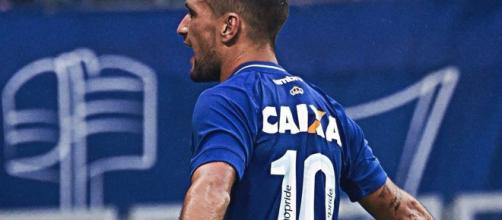 Arrascaeta marcou o gol do Cruzeiro