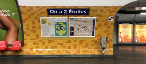 """Deschamps Elysées-Clémenceau"""", """"On a 2 Étoiles"""", la RATP rebaptise ... - lejdd.fr"""