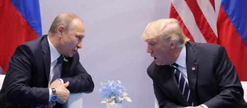 Donald Trump llega a Finlandia para reunirse con Vladimir Putin