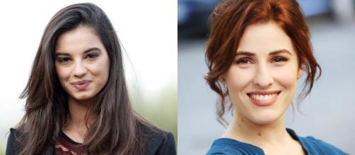 Francesca Chillemi e Diana Del Bufalo al Giffoni 2018.