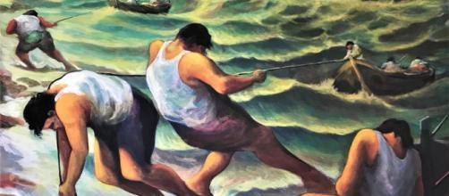 Immagine di un dipinto del maestro Lorenzo Chinnici