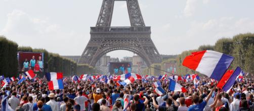 FRANCIA / Disturbios durante la celebración por el triunfo del mundial de Rusia 2018