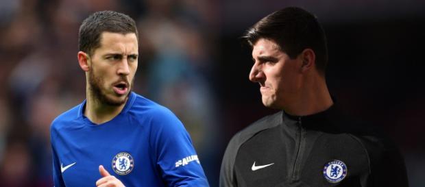Chelsea se bat pour garder Eden Hazard et Thibaut Courtois ... - goal.com