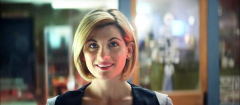 """13th Doctor (Jodie Whittaker) trolls her future companions in trailer for """"Doctor Who"""" Season 11. / Image - BBC America YouTube (screen-cap)"""