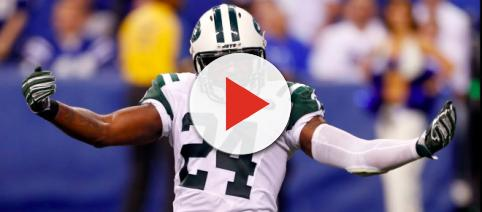 Darrelle Revis with New York Jets. - [Official LoyalJetFans / YouTube screencap]