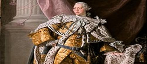 Trump is no King George III but he may be as mad. [Image source: Allan Ramsey - Wikimedia commons]