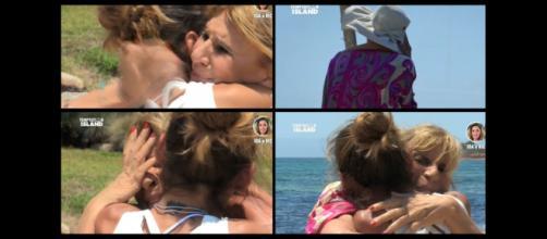 Gemma Galgani a Temptation Island per consolare Ida Platano.