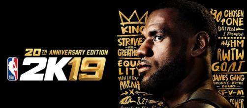 LeBron James sulla copertina speciale di NBA 2K19