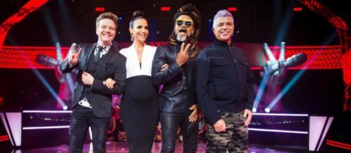 Os técnicos estão prontos para mais uma disputa no The Voice Brasil