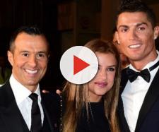 Cristiano Ronaldo s'affiche avec la fille de Jorge Mendes