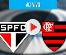 São Paulo e Flamengo se enfrentam nesta quarta-feira, às 21h45