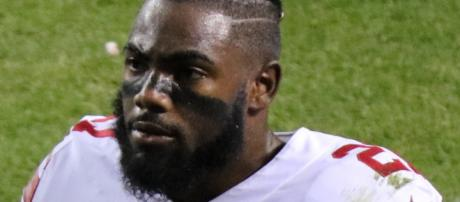 Landon Collins finished third in Defensive Player of the Year voting in 2016. [Image Source: Wikipedia | Jeffrey Beall]