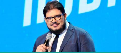 """Rodrigo Fernandes, conhecido como """"Jacaré Banguela"""""""