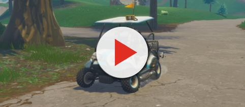 ATK golf karts could get custom skins soon. [Image credit: SomAngus - YouTube]