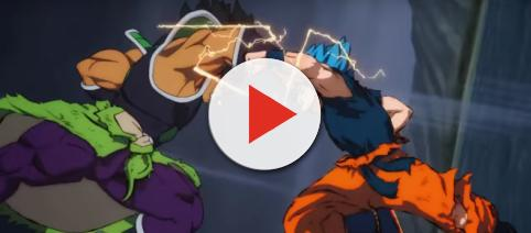 Broly goes berserk in the new trailer. [image source: IGN/YouTube screenshot]