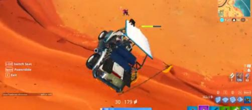 A screenshot from the botched 'Fortnite' rescue. [Image source: Muselk/YouTube]