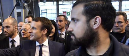 Alexandre Benalla, un proche du Président de la République en charge de sa sécurité rapprochée