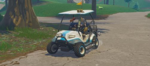 ATK golf karts could get custom skins soon. [Image credit: SomAngus - YouTube]