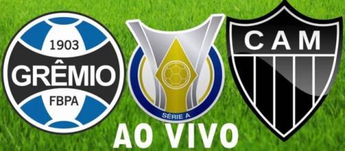 Grêmio e Atlético Mineiro se enfrentam nesta quarta-feira